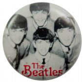 The Beatles - 'Early Group' Button Badge